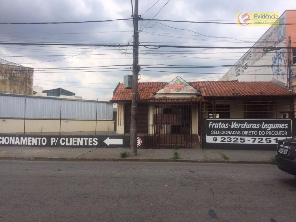 Casa comercial para locação, Vila Apiaí, Santo André.