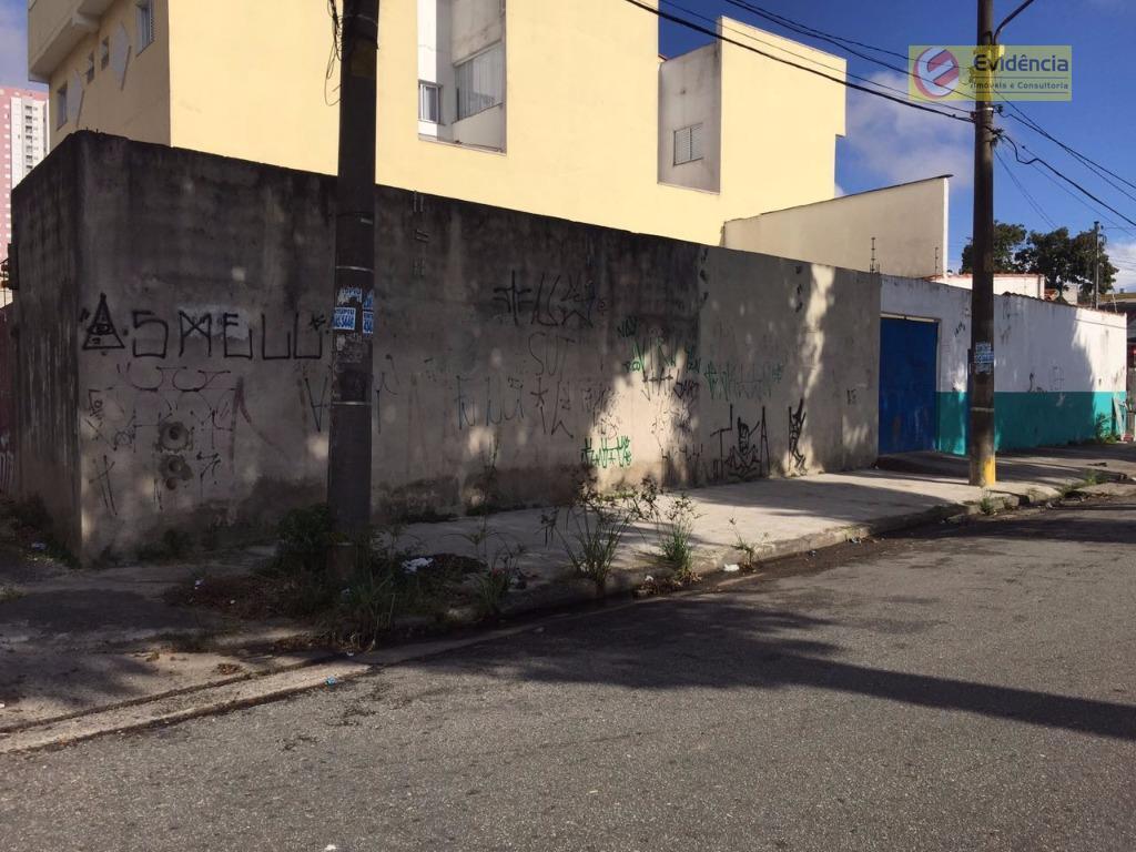 Terreno residencial à venda, Vila Pires, Santo André.