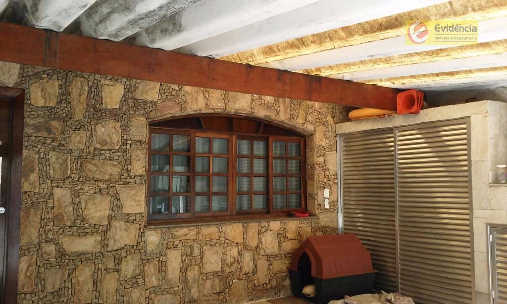 Casa residencial à venda, Jardim Ocara, Santo André.