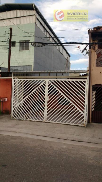 Casa residencial à venda, Jardim Bom Pastor, Santo André.