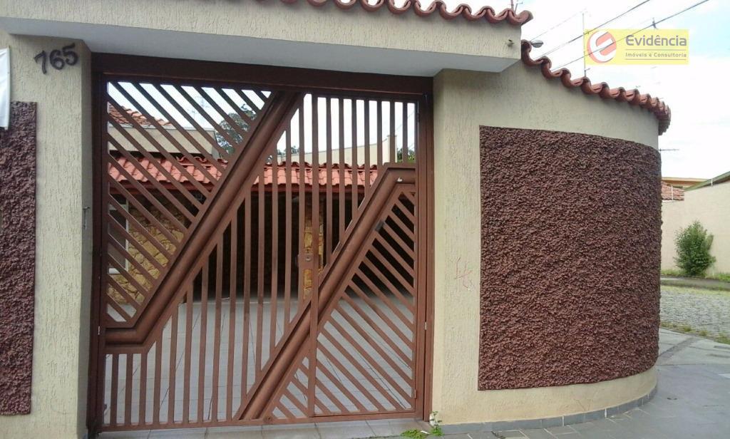 Casa residencial à venda, Vila Pires, Santo André - CA0331.