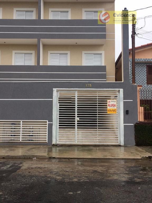 Apartamento residencial para locação, Jardim Ipanema, Santo André.