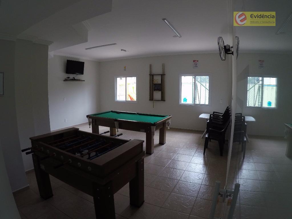 Apartamento residencial à venda, Vila Valparaíso, Santo André.