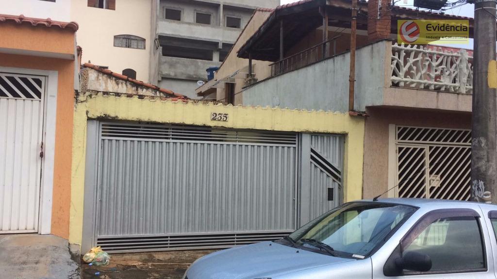 Terreno residencial à venda, Vila Scarpelli, Santo André.