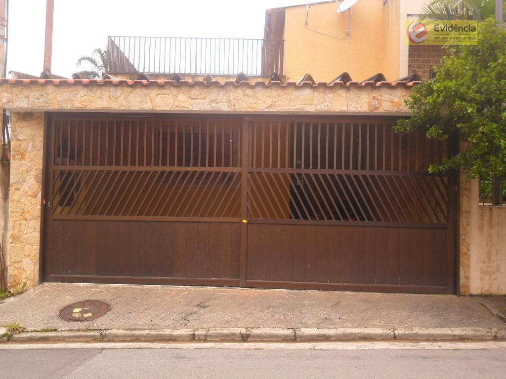 Casa residencial à venda, Parque Bandeirante, Santo André.