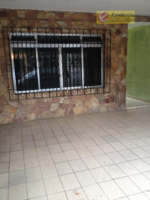 Casa residencial para locação, Parque Capuava, Santo André.