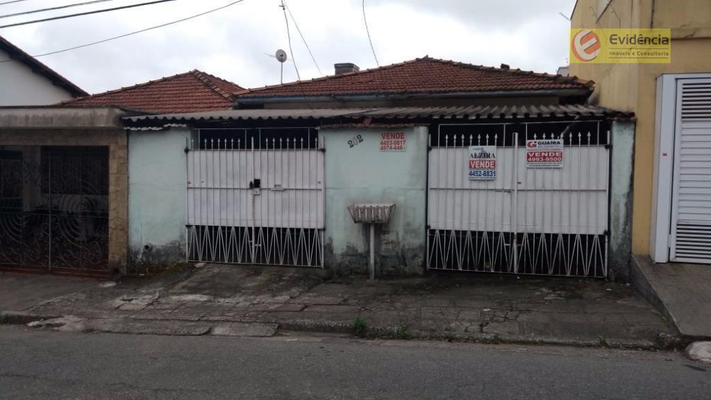 Terreno residencial à venda, Vila Cecília Maria, Santo André.