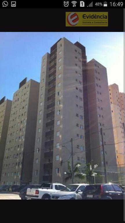 Apartamento residencial à venda, Vila Gonçalves, São Bernardo do Campo.