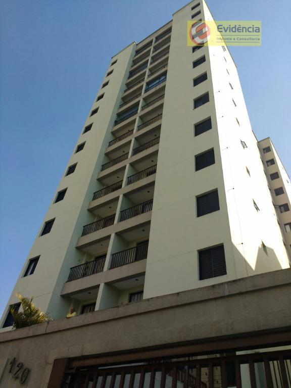 Apartamento residencial para locação, Vila Vilma, Santo André.