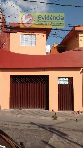 Casa residencial à venda, Vila Lutécia, Santo André.