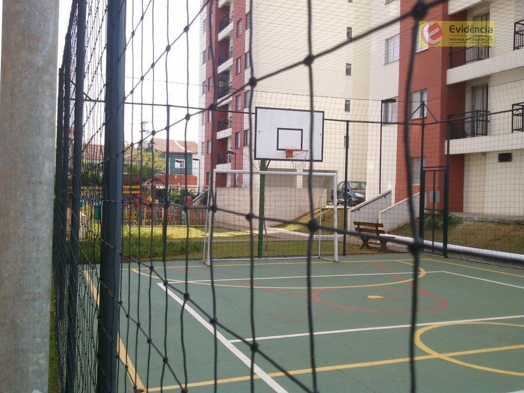 Apartamento  residencial para locação, Jardim Cambuí, Santo André.