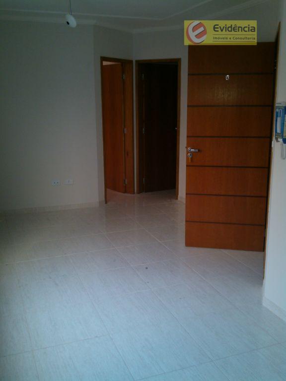 Apartamento  residencial para locação, Jardim Teles de Menezes, Santo André.