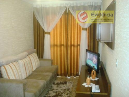 Apartamento residencial à venda, Vila Apiaí, Santo André - AP0427.