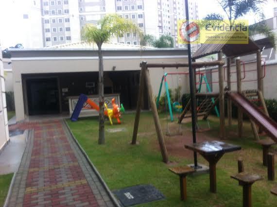 Apartamento residencial à venda, Parque São Vicente, Mauá - AP0386.