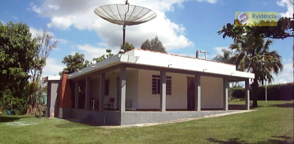Chácara residencial à venda, Quadra, Tatuí - CH0002.