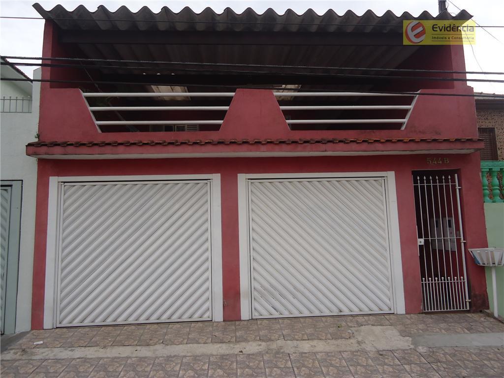Casa residencial à venda, Vila Bela Vista, Santo André - CA0078.