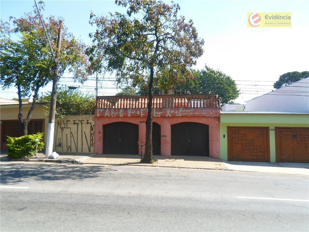 Casa  residencial à venda, Campestre, Santo André.