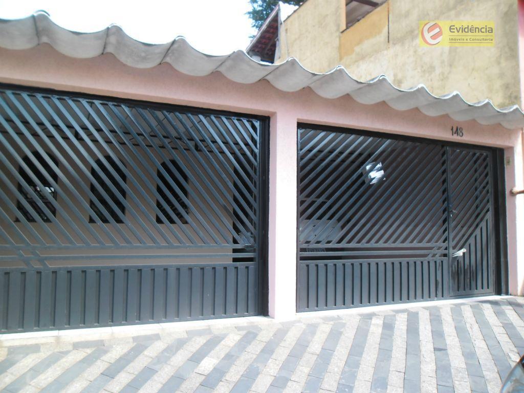 Casa residencial à venda, Jardim Alvorada, Santo André - CA0064.