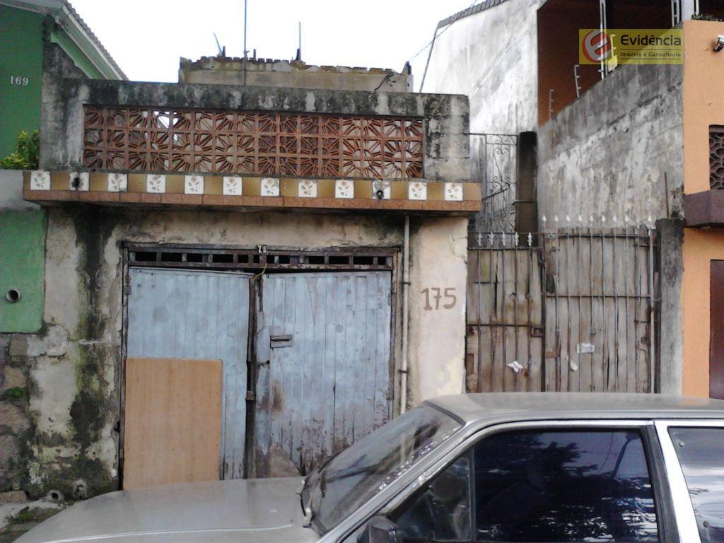 Terreno  residencial à venda, Jardim Progresso, Santo André.