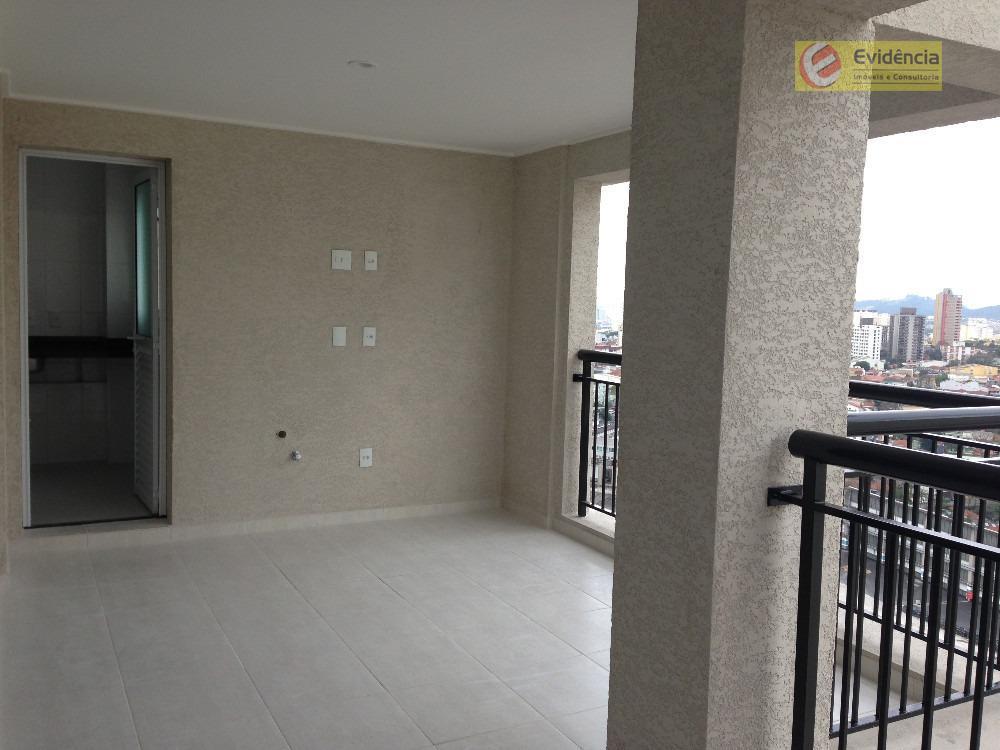 Apartamento residencial à venda, Vila Boa Vista, Santo André - AP0134.