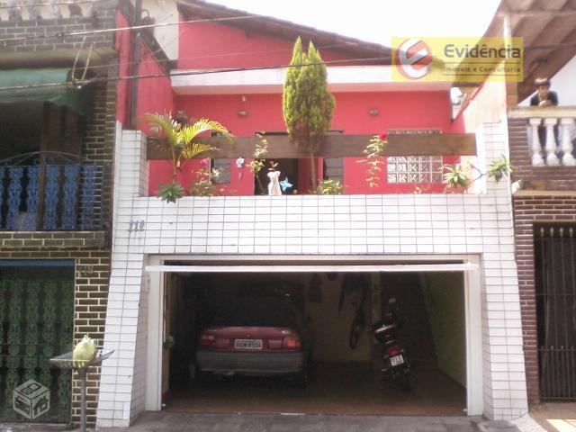 Casa residencial à venda, Vila Bela Vista, Santo André - CA0083.