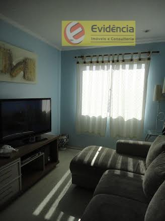 Apartamento residencial à venda, Jardim Pedroso, Mauá - AP0351.