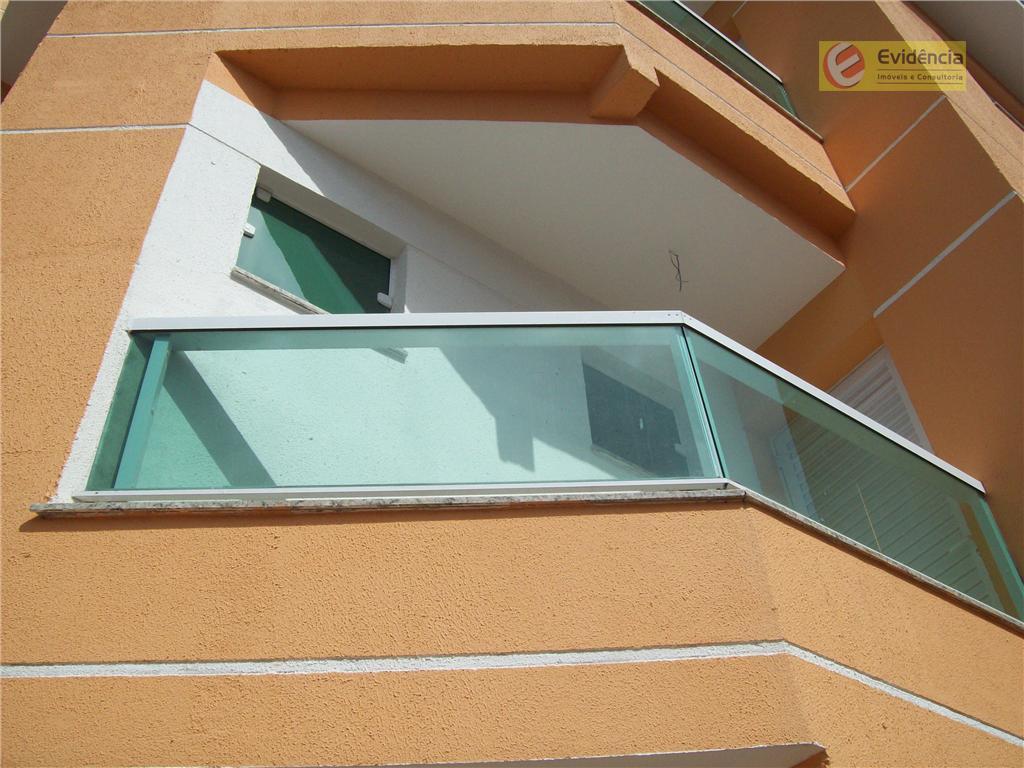 Apartamento residencial à venda, Jardim Jamaica, Santo André - AP0264.