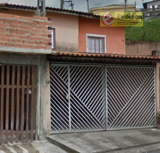 Casa residencial à venda, Jardim Guarará, Santo André.