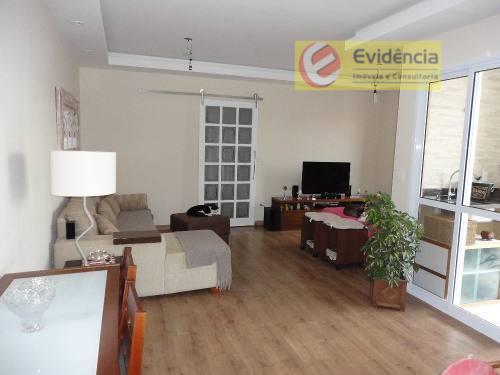 Apartamento residencial à venda, Vila Valparaíso, Santo André - AP0291.