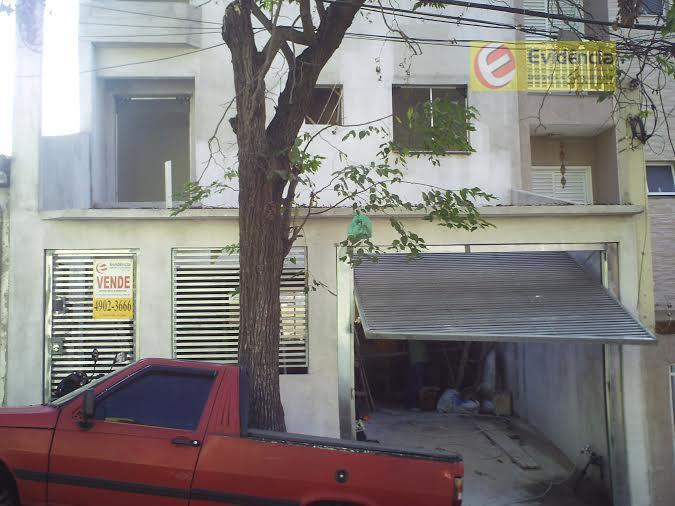 Apartamento residencial à venda, Jardim Progresso, Santo André.