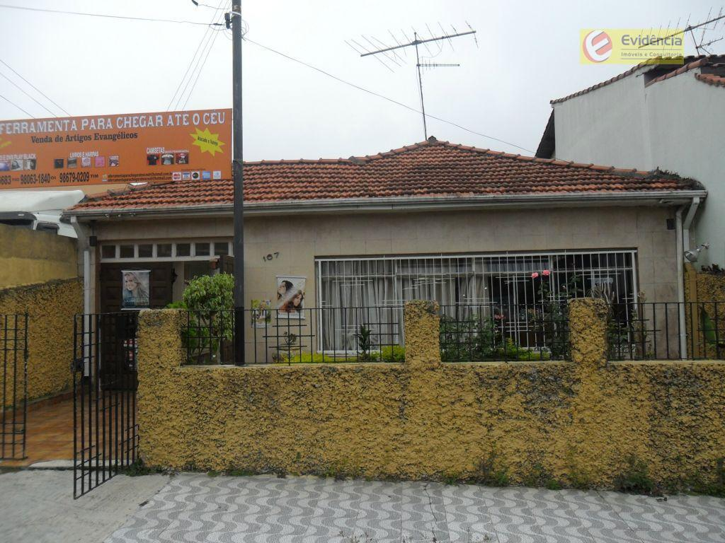 Casa residencial à venda, Vila Sacadura Cabral, Santo André.