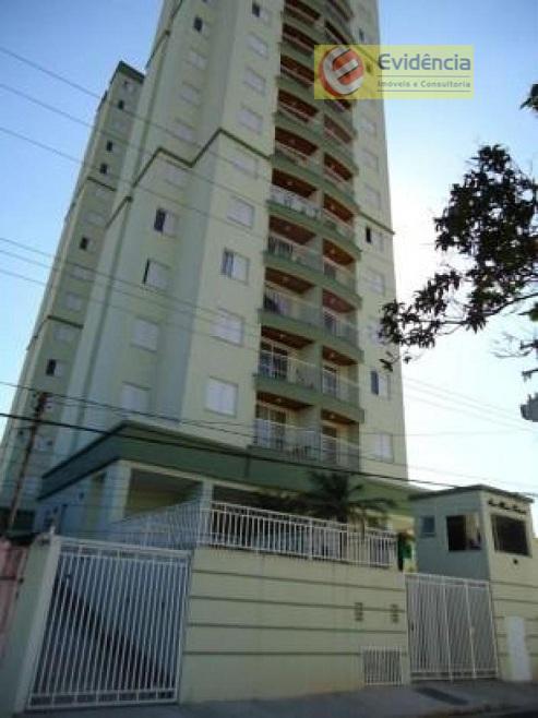 Apartamento residencial à venda, Parque Bandeirante, Santo André.