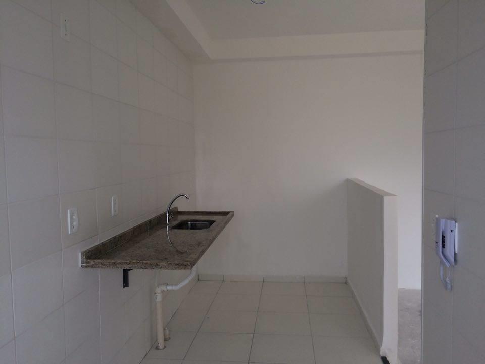 apartamento novo no contra piso com 02 dormitórios sendo 1 suite, sala com sacada, wc social,...