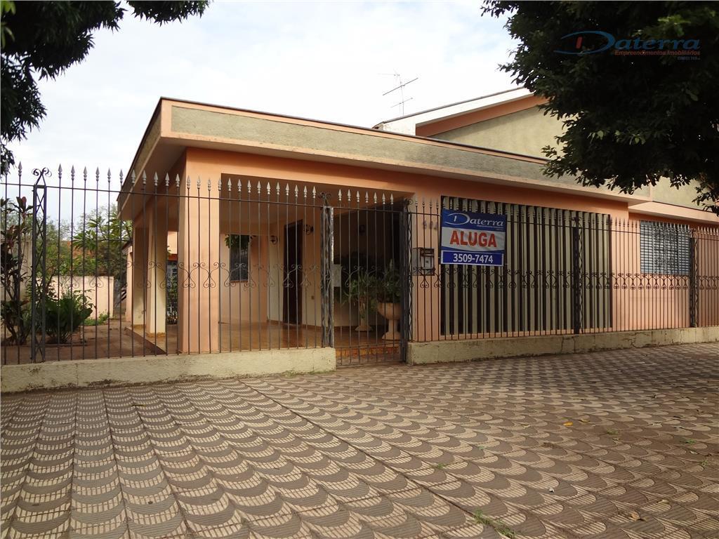 Casa comercial para locação, Centro, Três Lagoas.