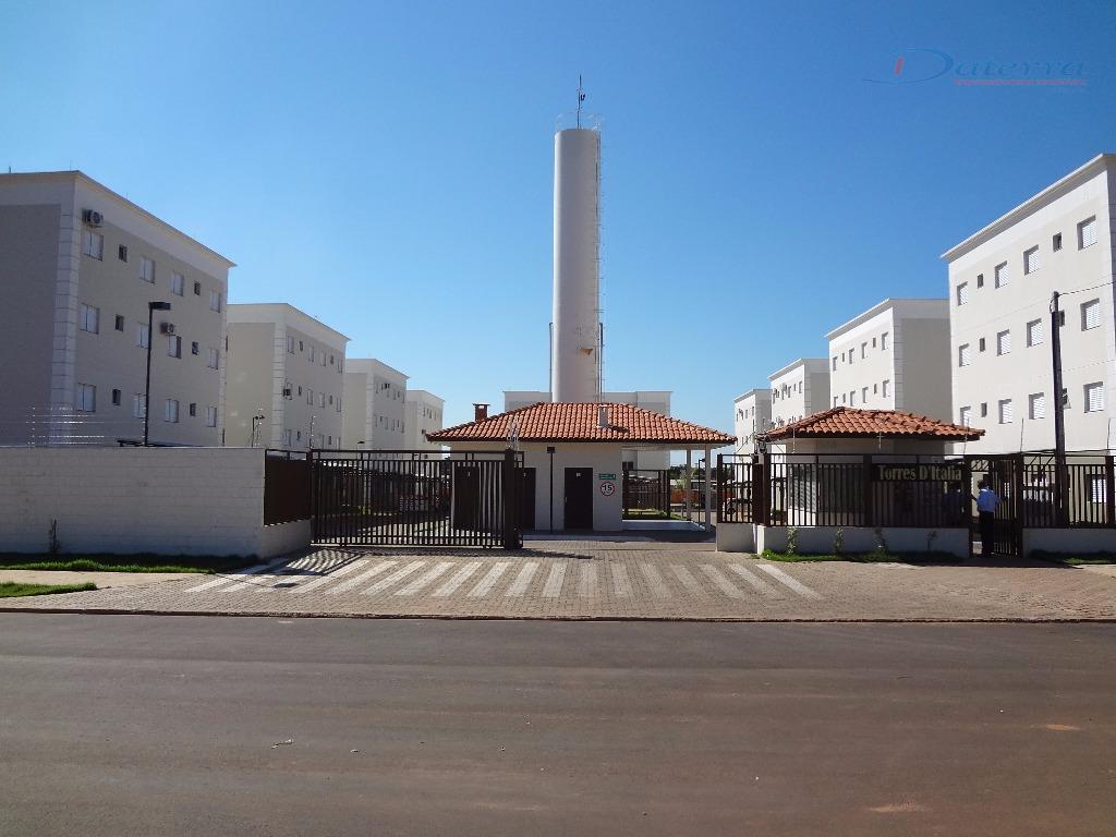Apartamento à venda, Residencial Torres d Itália, Jardim Alvorada, Três Lagoas.