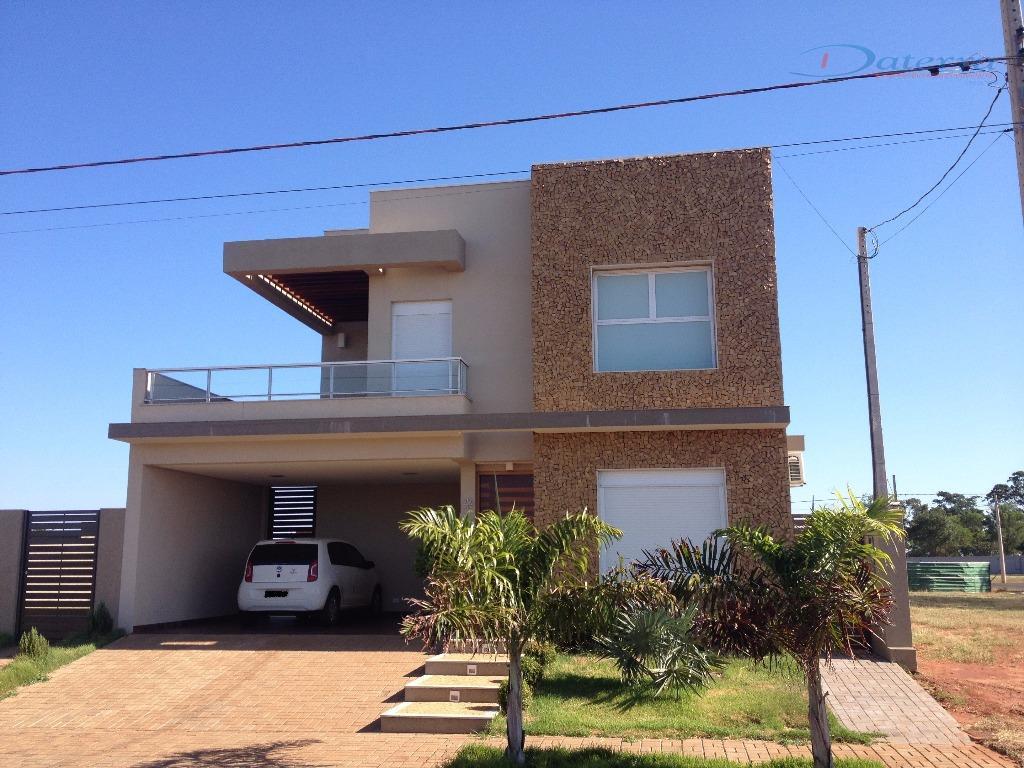 Casa residencial à venda, Condomínio Terras do Jupiá, Três Lagoas.