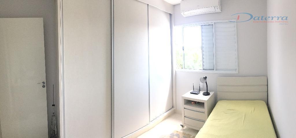 * 1 suíte com moveis planejados no quarto e banheiro e ar;* 2 dormitórios com moveis...