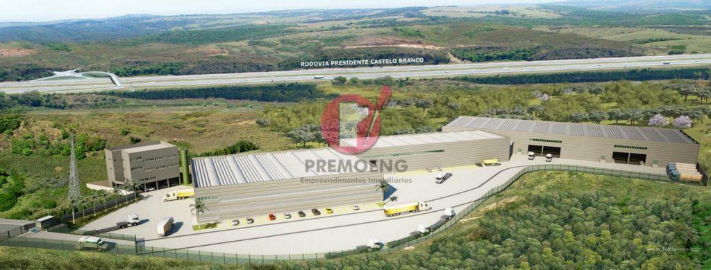 Condomínio Logístico/Industrial em Araçariguama-SP - OBRAS ACELERADAS
