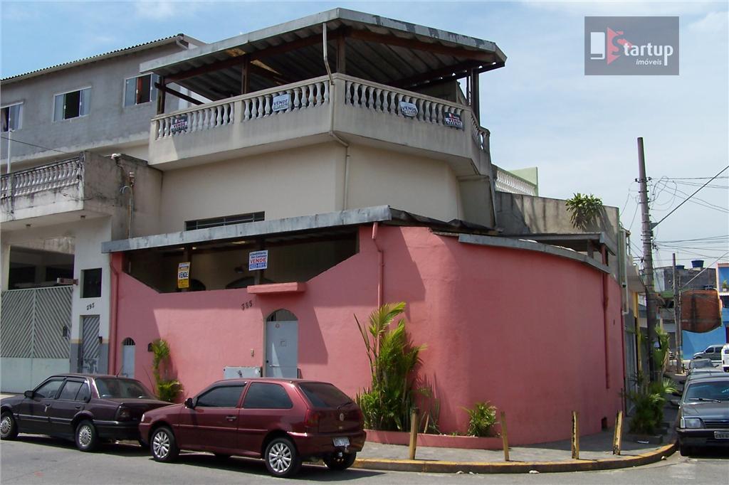 Sobrado comercial à venda, Vila Palmares, Santo André.