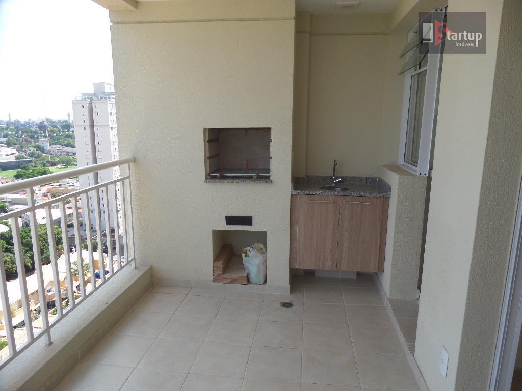 Apartamento  residencial para locação, Jardim São Caetano, São Caetano do Sul.