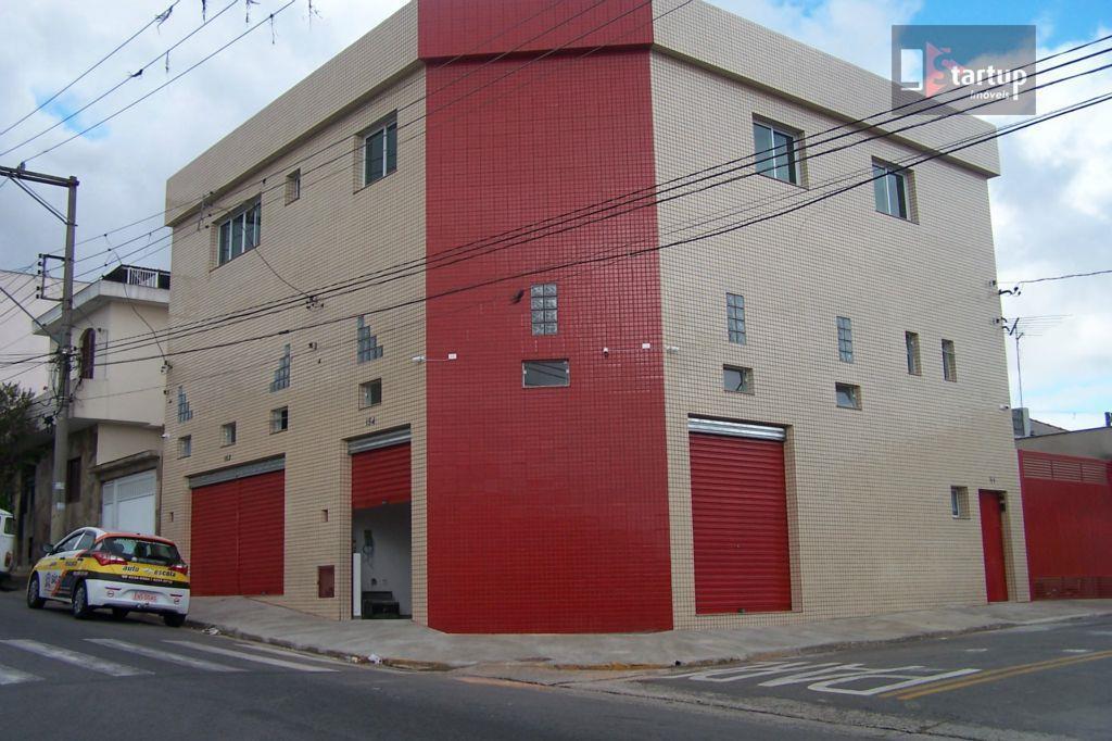 Salão comercial para locação, Nova Gerty, São Caetano do Sul - SL0025.