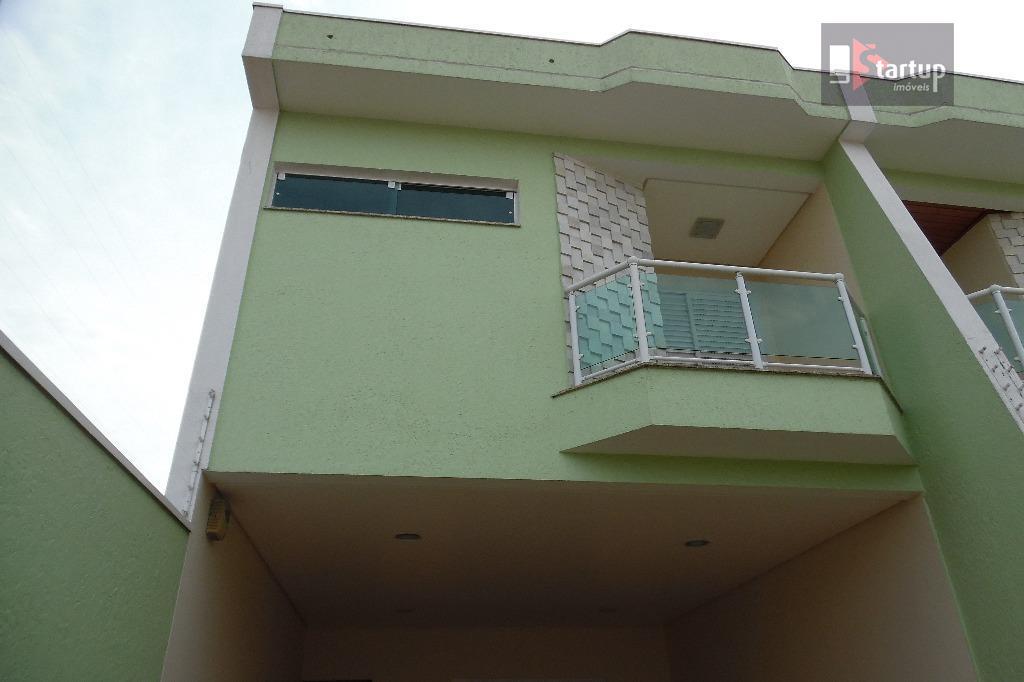 Sobrado residencial à venda, Santa Maria, Santo André - SO0209.