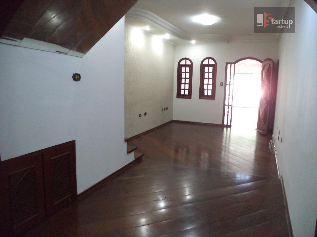Sobrado  residencial para locação, Nova Gerti, São Caetano do Sul.