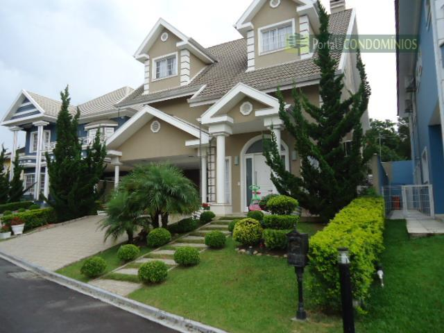 Casa residencial à venda, Santa Felicidade, Curitiba - CA0112.