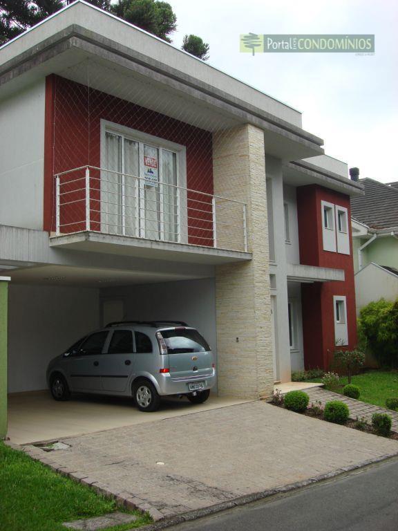 Casa residencial à venda, Santa Felicidade, Curitiba - CA0130.