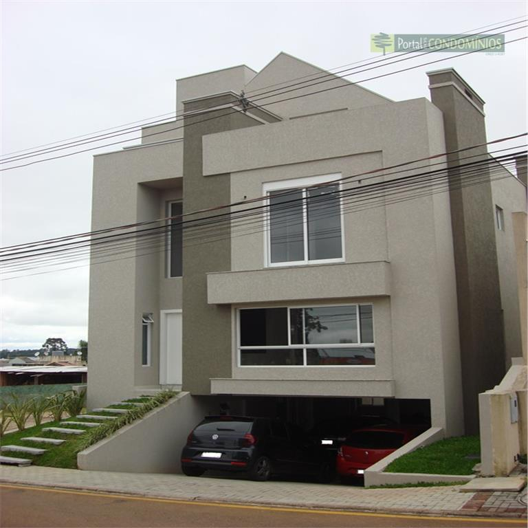Casa residencial à venda, Santa Quitéria, Curitiba - CA0131.