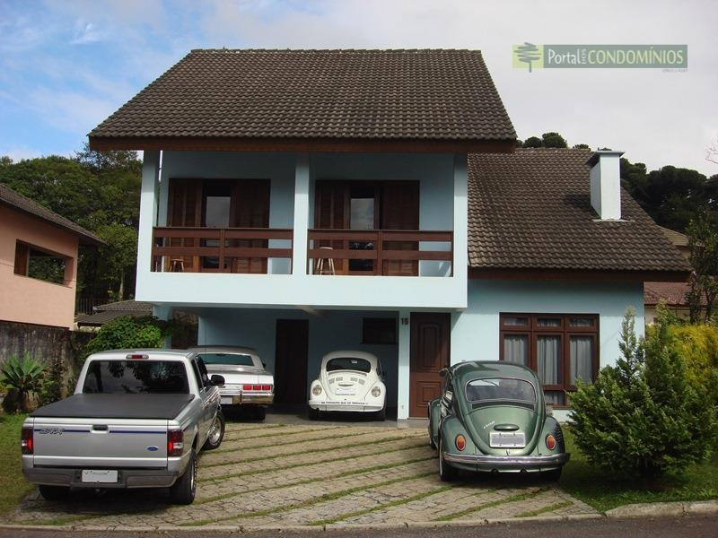 Casa residencial à venda, Santa Felicidade, Curitiba - CA0142.