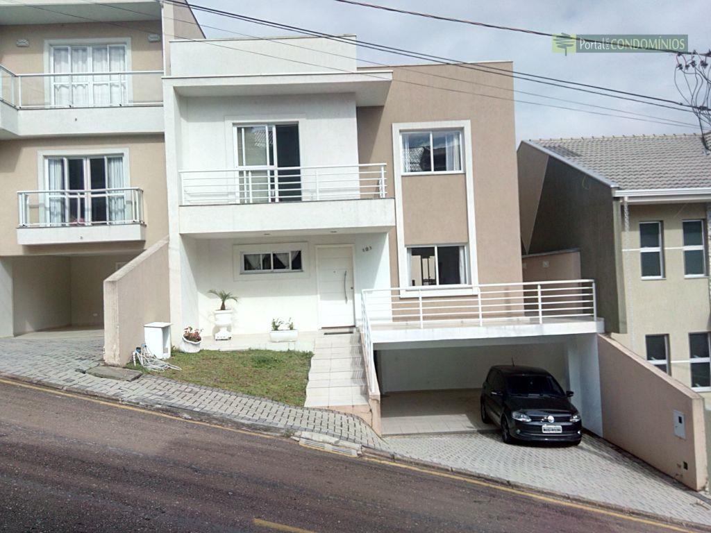 Casa residencial à venda, Santa Quitéria, Curitiba - CA0137.