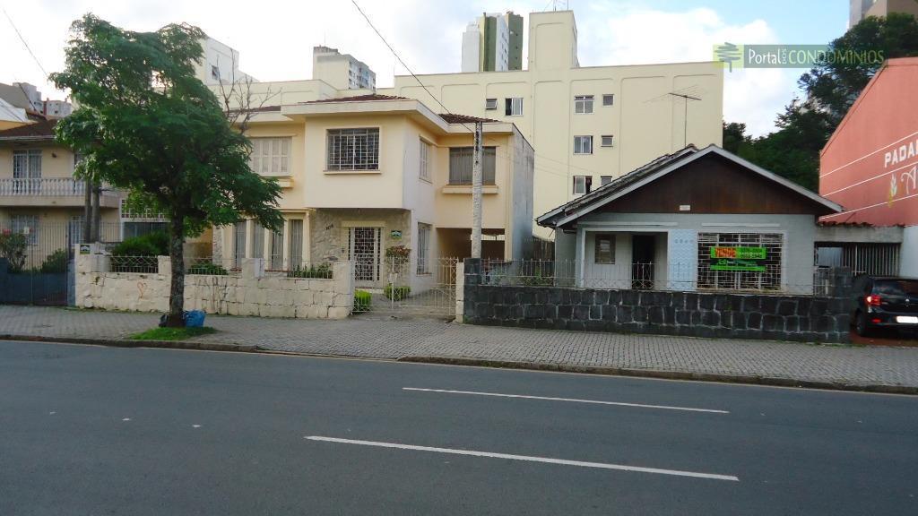Terreno comercial à venda, Bigorrilho, Curitiba - TE0401.