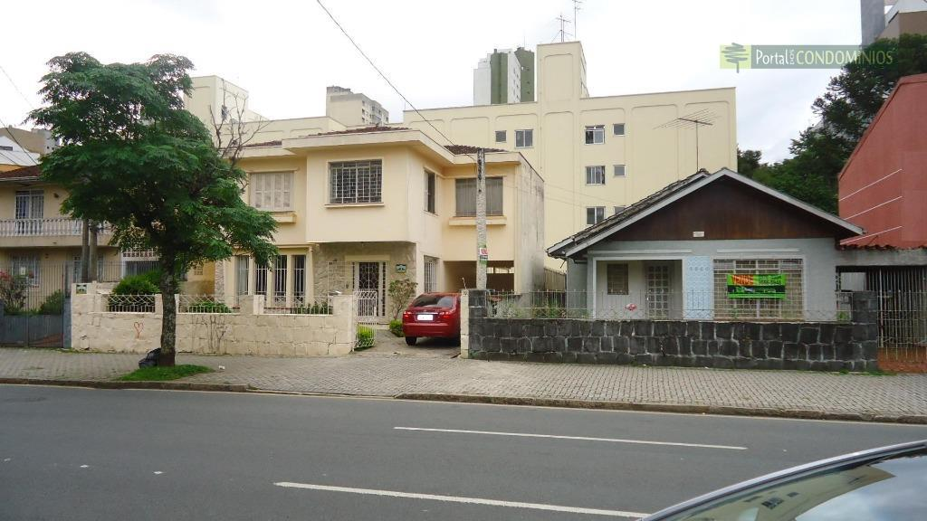 Terreno comercial à venda, Bigorrilho, Curitiba - TE0407.